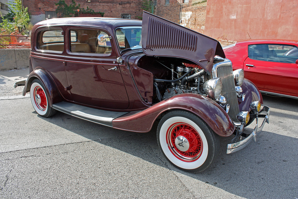 1934 Ford Deluxe V8 Tudor Sedan 2 Of 3 Photographed At