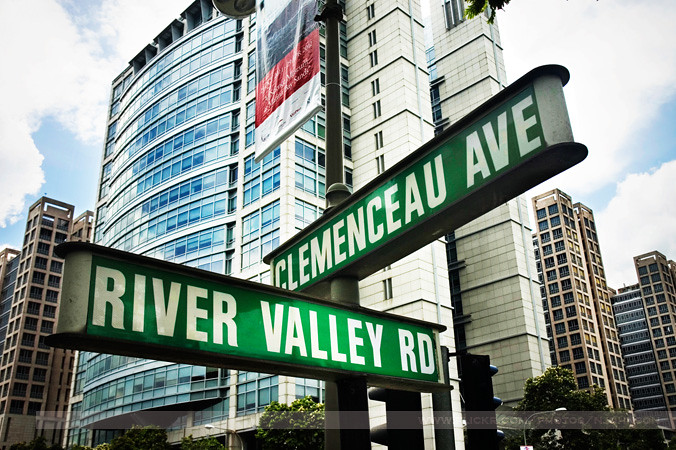 Clemenceau Ave Amp River Valley Rd Singapore Seven