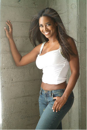 kenya moore beautiful fit black woman