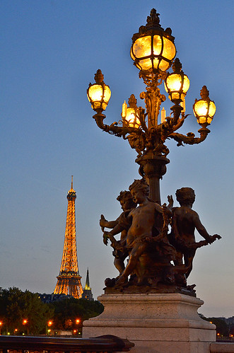 Eiffel Tower from Pont Alexandre, Paris, France. | by pedro lastra