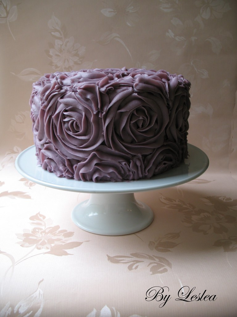 Cake With Roses Buttercream : Buttercream Roses Cake Chocolate cake, filled with ...