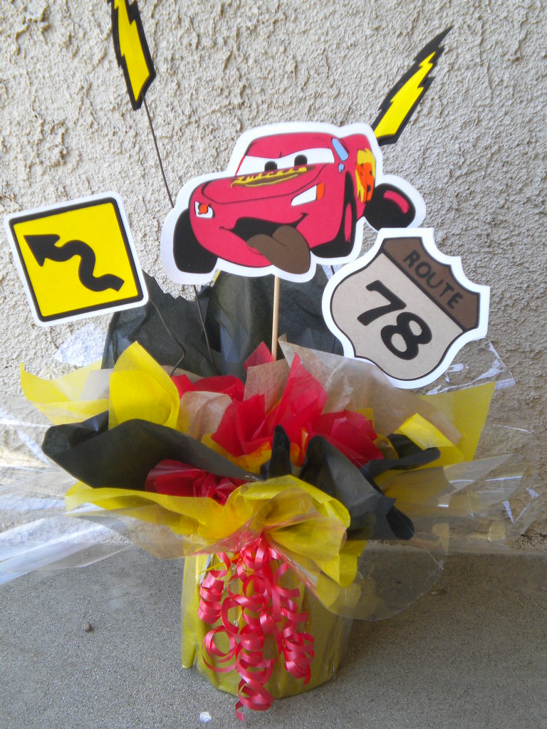 Cars Centerpiece This Is A Great Centerpiece This Is A