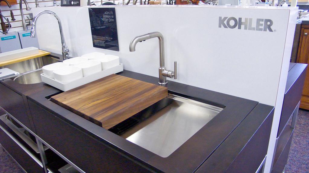 Kohler Professional Kitchen Sink | With raised work surface … | Flickr