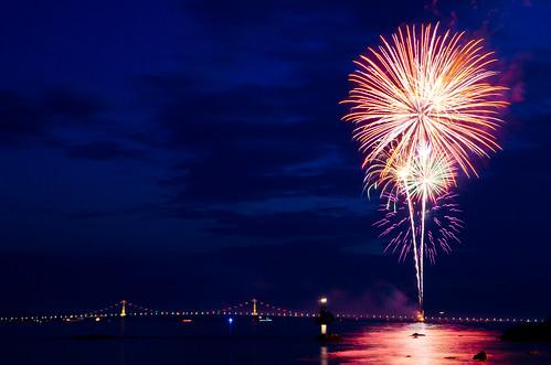 Fireworks Mackinac Island