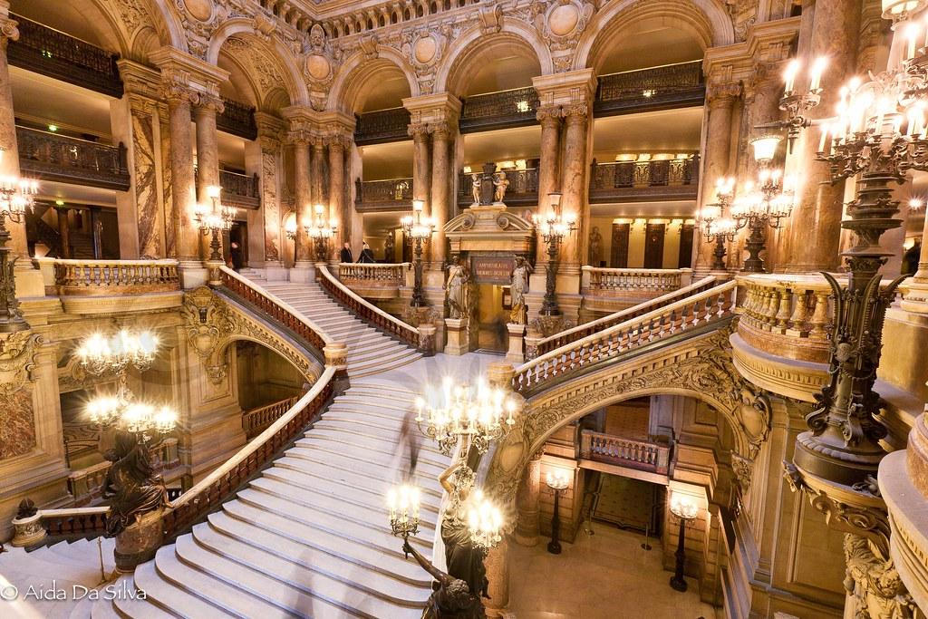 Superficie Grand Foyer Opera Garnier : Palais garnier theater foyer paris when i was a child