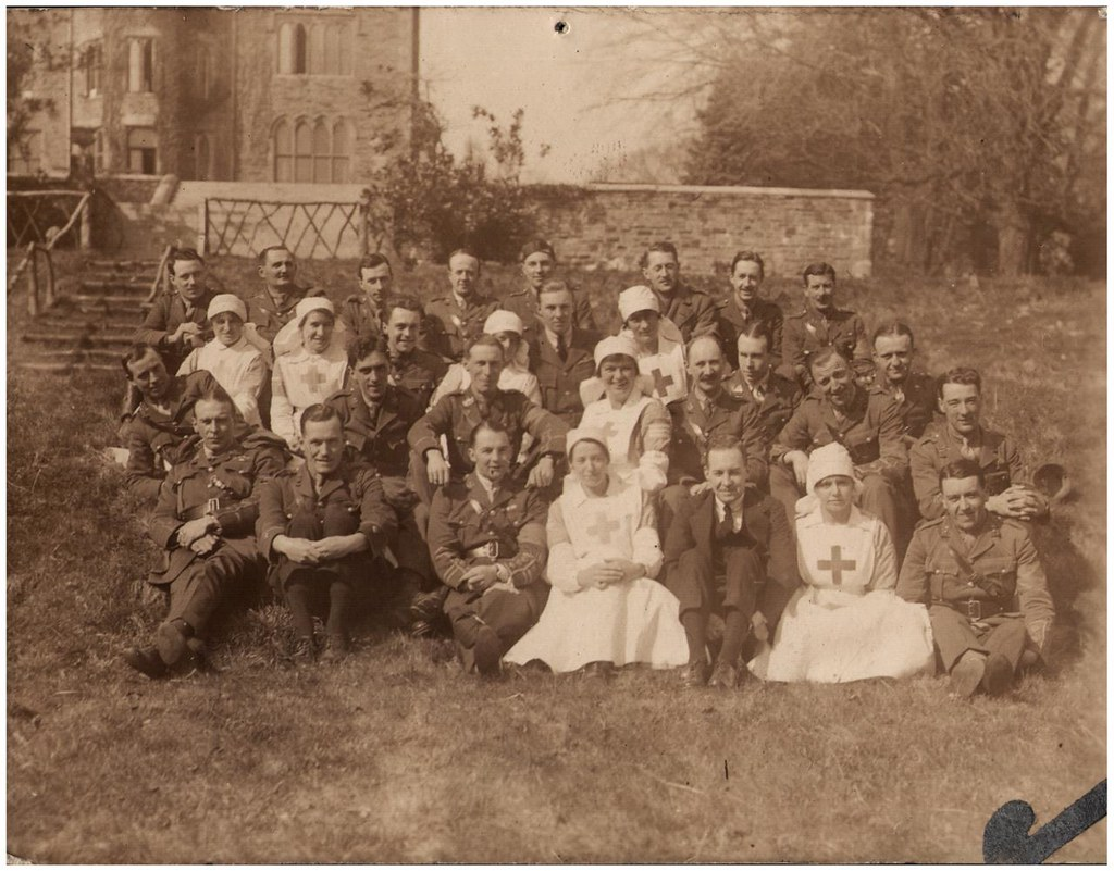 Identified! WW1 hospital at Parc Wern (now Parc Beck), Swansea