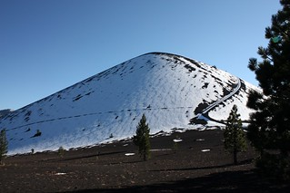 Snow Covered Cinder Cone, Lassen Volcanic National Park | by Ray Bouknight