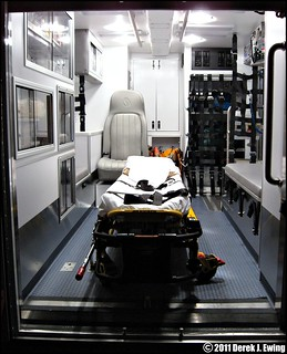 Interior of Colonie EMS Squad 661 | by CODE 4 NORTH