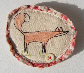 fowler fox brooch | by hens teeth