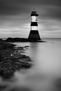 Penmon Lighthouse | by Adam BStar
