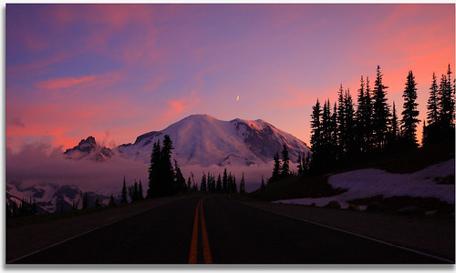 The Road to a Beautiful Sunset | by Don Jensen