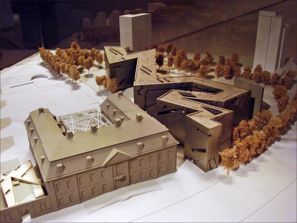maquette du mus e juif berlin l 39 architecte am ricain. Black Bedroom Furniture Sets. Home Design Ideas