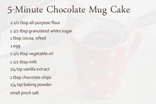 Minute Chocolate Microwave Mug Cake | Flickr - Photo Sharing!
