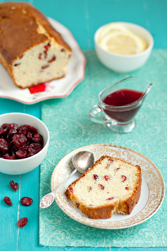 Lemon cake with cranberries 1 | by Kate Morozova