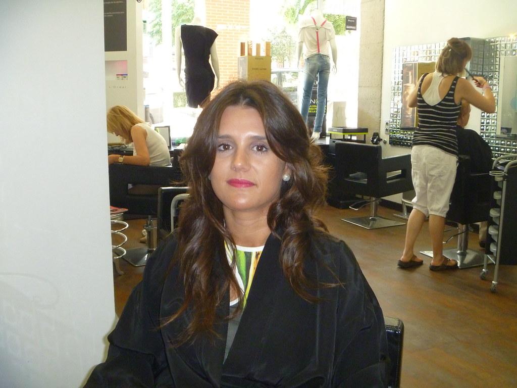 Melena Larga Y Ondulada Glamour Estilistas Santander Flickr