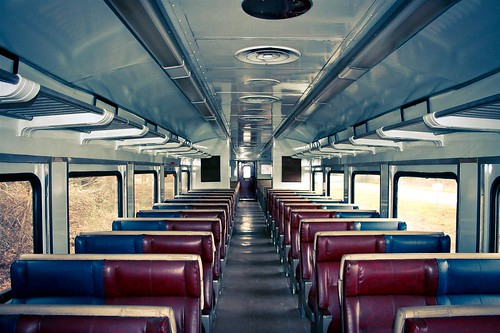 Beautiful interior to a self propelled coach car | by VerucaSallt