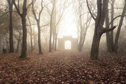 Autumn Fantasy : The Portal of Misty Dreams | by Gilderic Photography