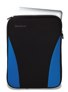 Shapo laptop sleeve Tahoe Blue | by GreenSmart