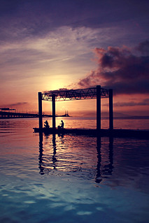 Sunrise Penang Bridge 11 Mar 2012 | by azira ahmad