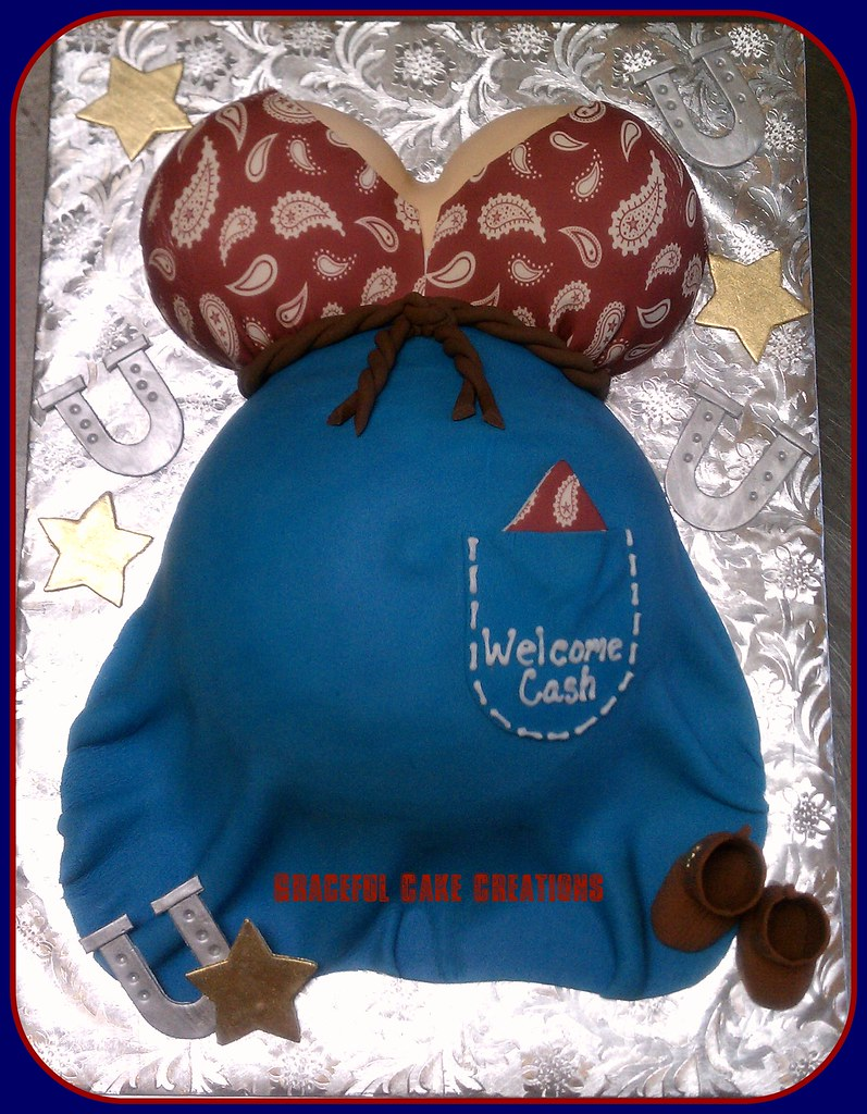 Western Baby Shower Cake Grace Tari Flickr