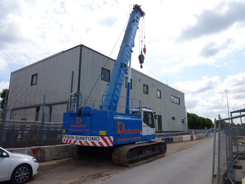 Telescopic Crane Hire : Delden telescopic crawler crane hire