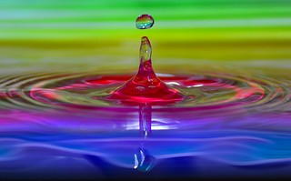 Rainbow magic water drops - part2 | by doctormauri73 - amateur photographer