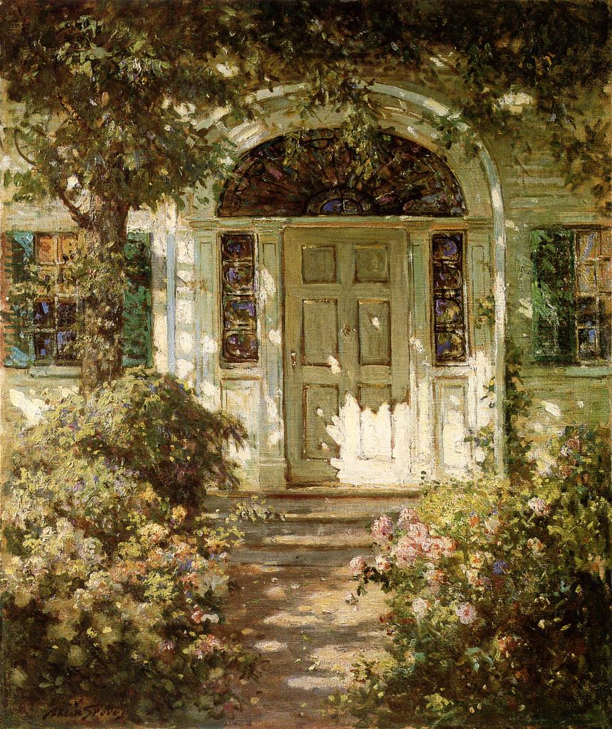 Abbott Fuller Graves Quot The Doorway Quot C 1900 Hi Res