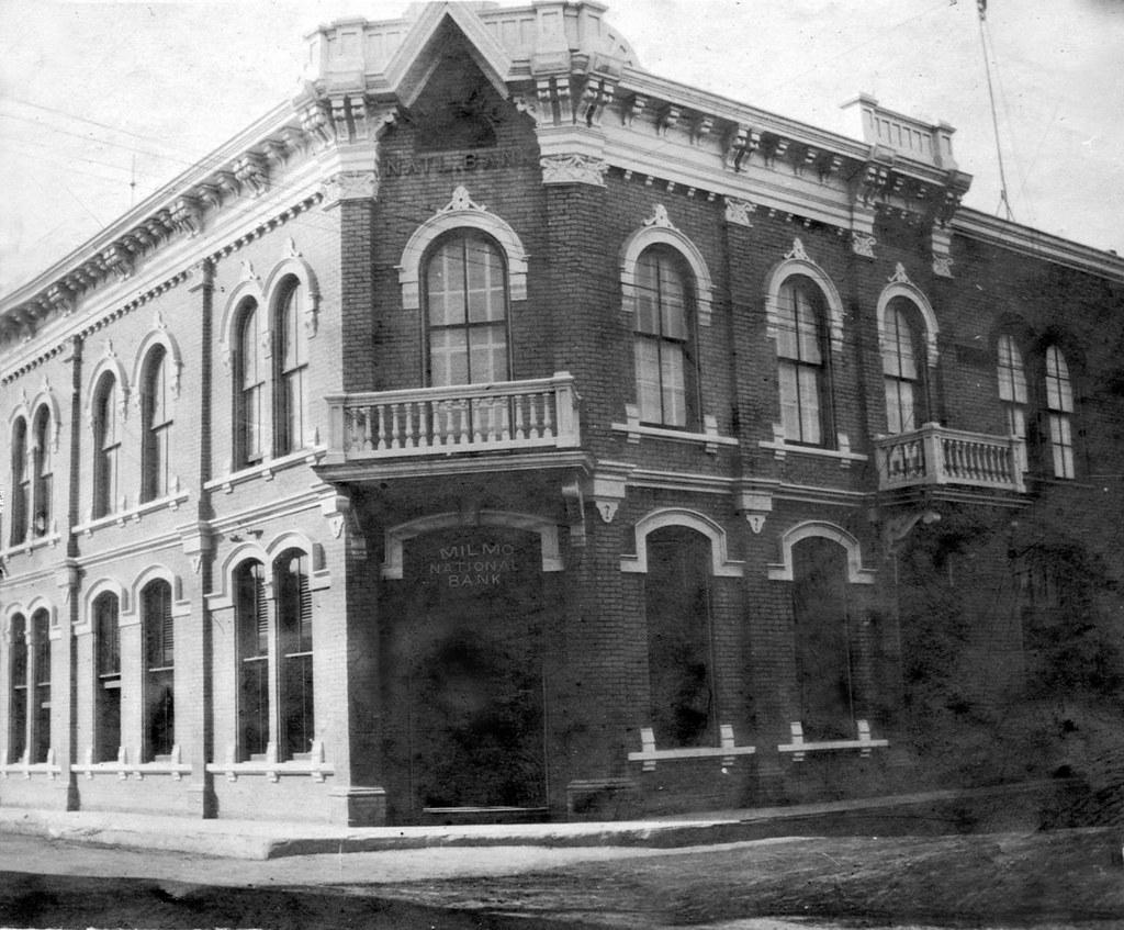 Milmo National Bank Laredo Texas Abt 1910 Milmo National Flickr