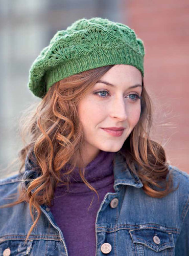 Greenery Beret | by knitting school dropout