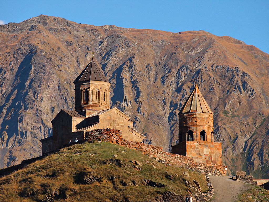Gergeti Trinity Church-Stepansminda-Georgia | Gergeti ...