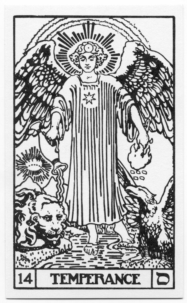Bota Key 1 Magician: BOTA Major Arcana 14 Temperance