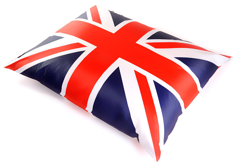 Pouf g ant big 52 uk drapeau anglais by flickr for Pouf drapeau anglais
