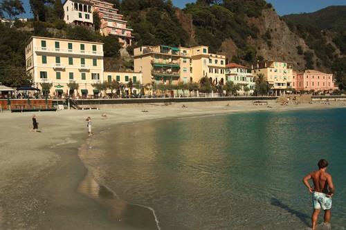 Monterosso  Beach,two weeks ago, - devastated yesterday by flash floods and landslides | by Liamfm .