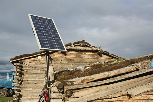 Portable solar systems in rural Mongolia | by World Bank Photo Collection