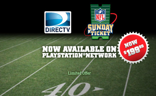 NFL Sunday Ticket on PSN | by PlayStation.Blog