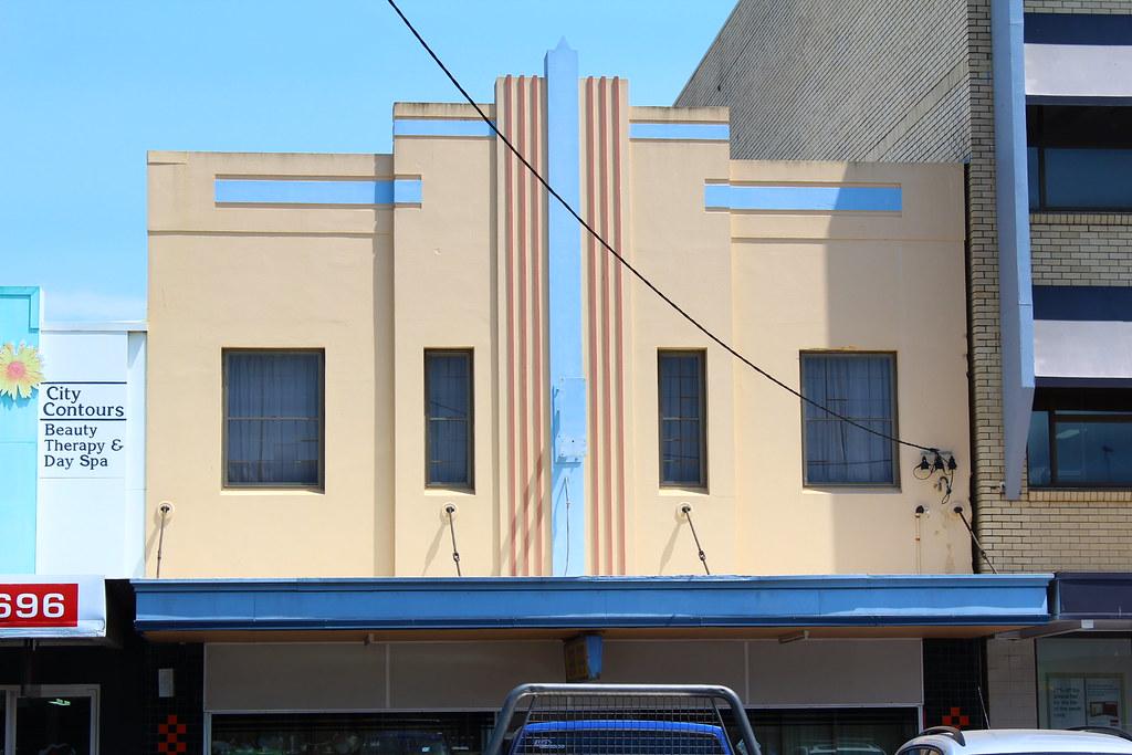 Art Deco façade in Mackay  tanetahi  Flickr