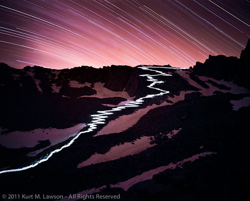 The 97 Switchbacks at Night | by Kurt Lawson