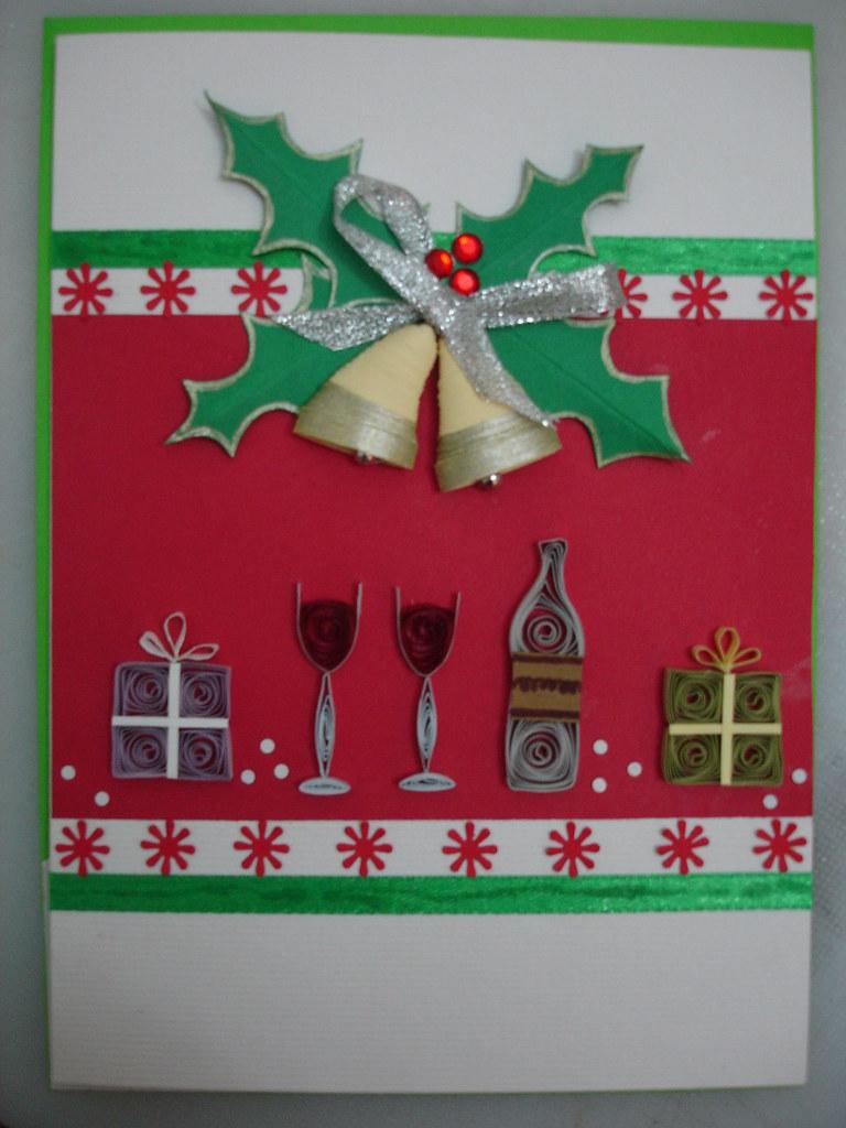 Quilled Christmas card. | Ruvini De Silva. Sri Lanka. ruvini… | Flickr