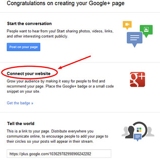 connect your website to google+ | by Bruce Clay, Inc