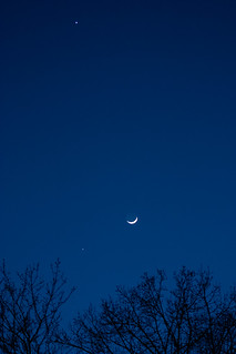 Moon, Jupiter and Venus - 3/25/12 | by zAmb0ni