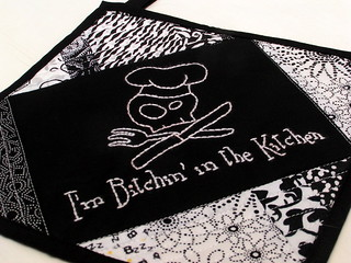 Bitchin' Potholder | by peachykeenquilts
