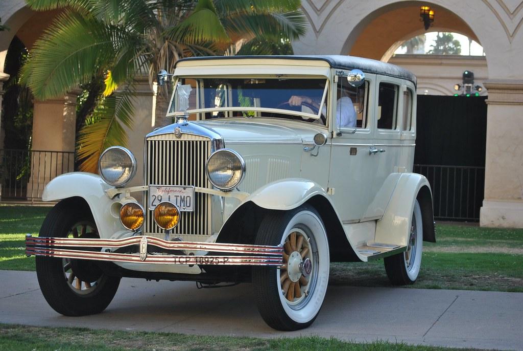 1929 Durant 4-Door Vintage Car This