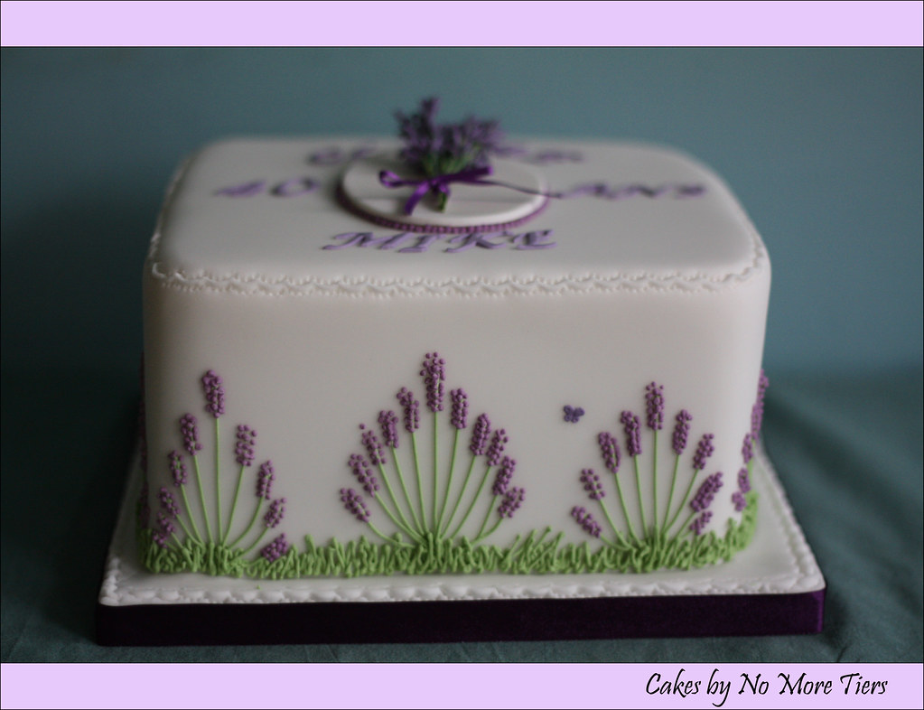 How To Make Lavender Cake