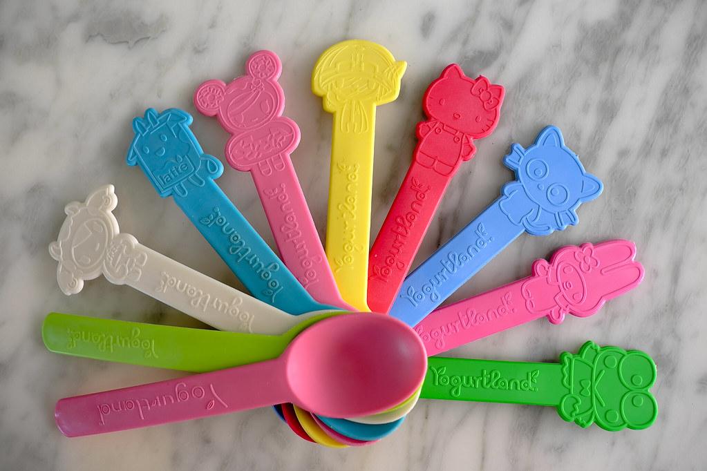 Image result for custom pp yogurt spoons