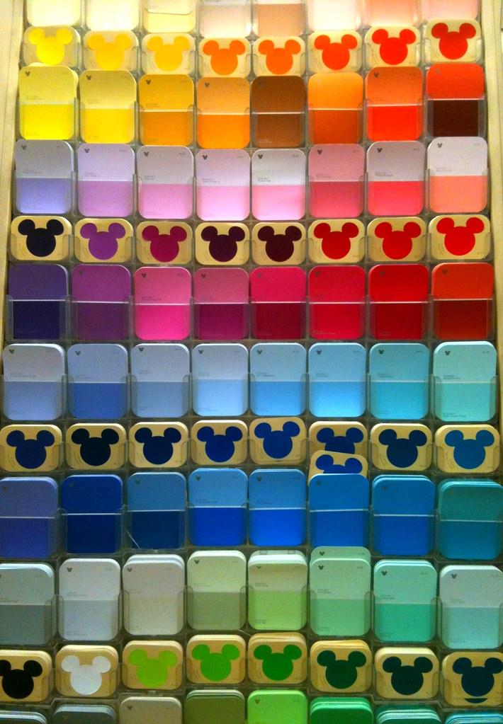 Disney Color Spectrum Paint Chips Iphone Pic Flickr