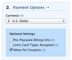 Chargify coupons