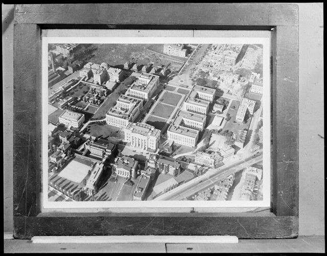 harvard medical school from the air longwood section