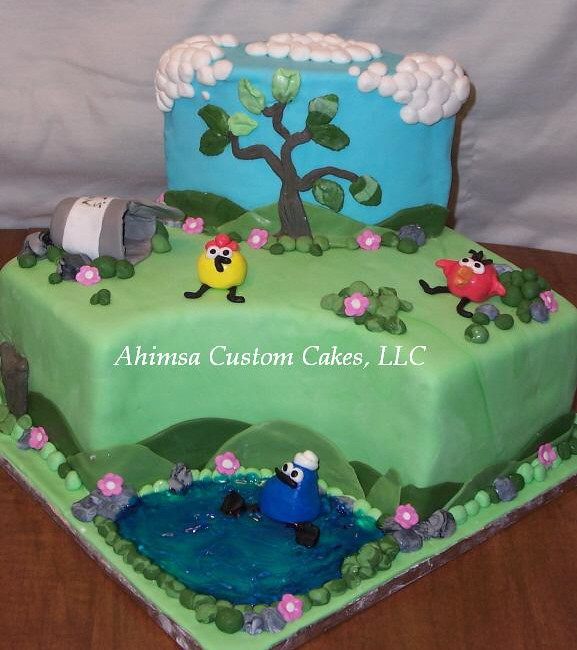 Peep  The Big Wide World My Daughters Birthday Cake  Ch Flickr - World birthday cake