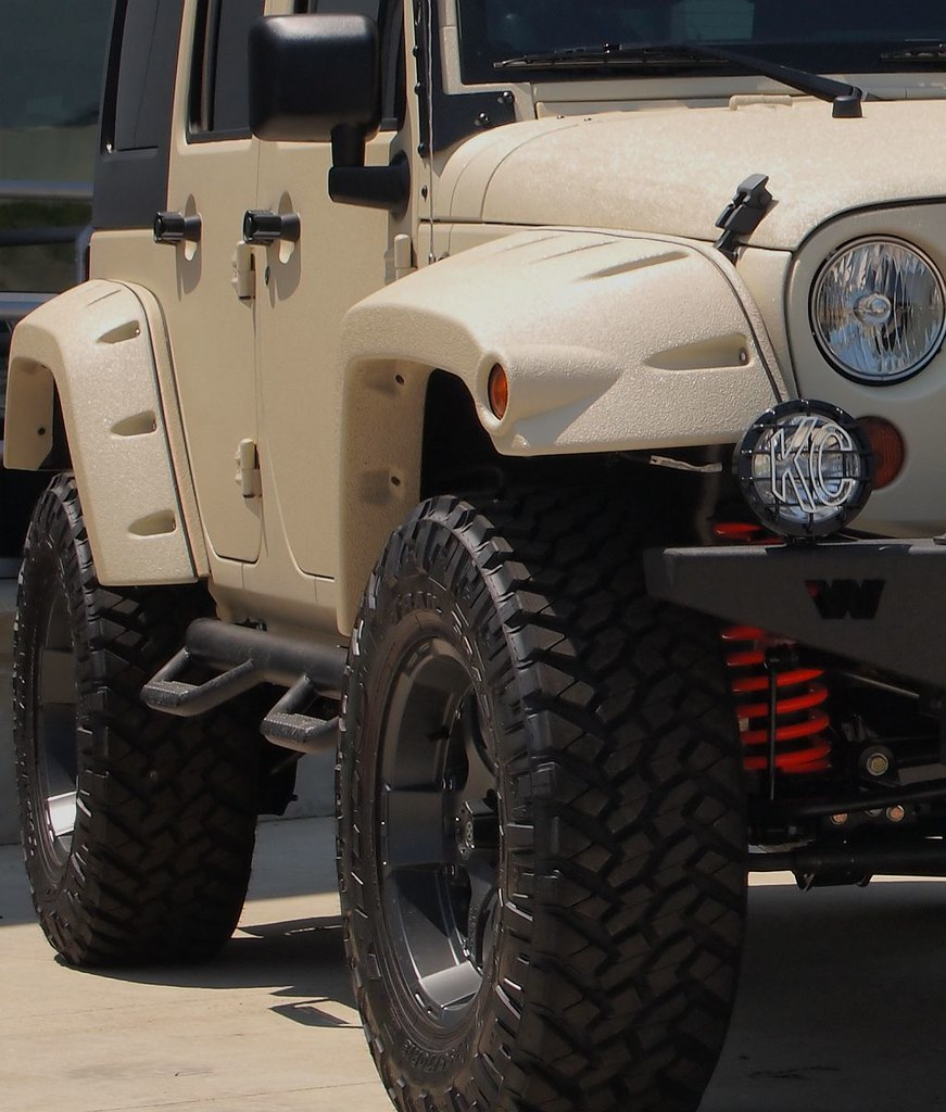 White Jeep Wrangler >> Jeep Wrangler Unlimited With Line-X Body   MWButterfly   Flickr