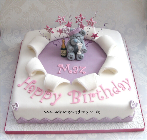Birthday Cake Designs For A Lady : me to you surprise 60th birthday cake Another version of ...